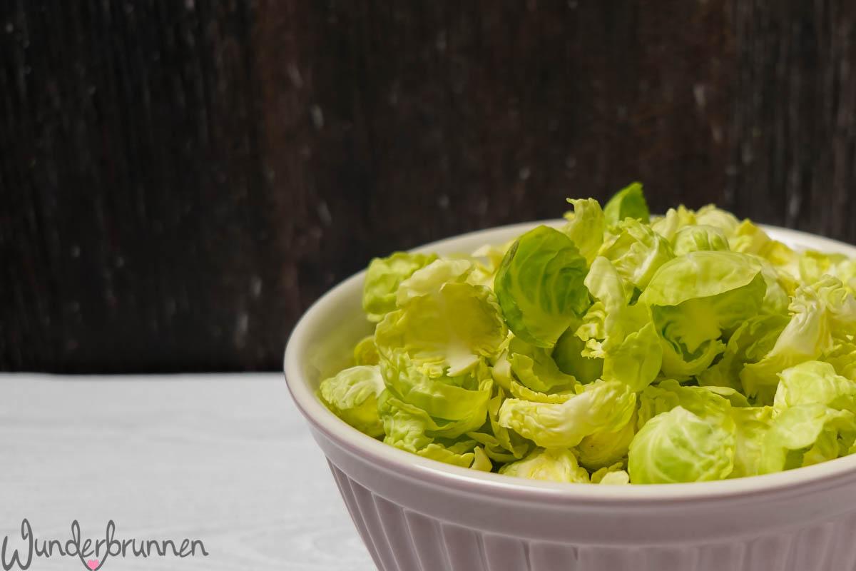 Rosenkohl - Wunderbrunnen - Fotografie - Foodblog