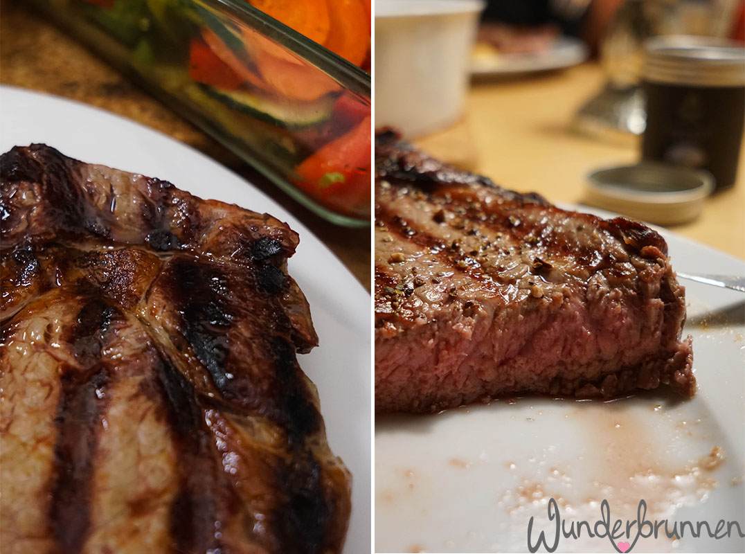 Collage Ribeye-Steak - Wunderbrunnen - Foodblog - Fotografie