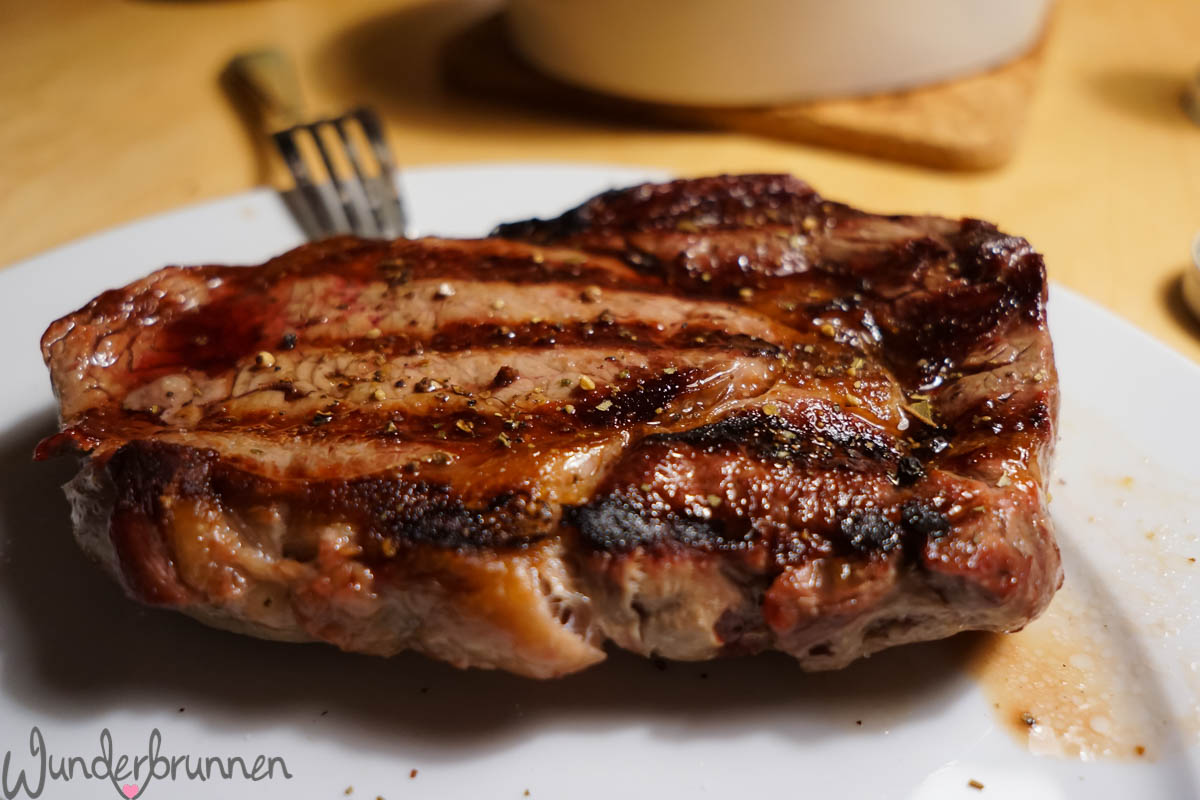 knuspriges Ribeye-Steak - Wunderbrunnen - Foodblog - Fotografie