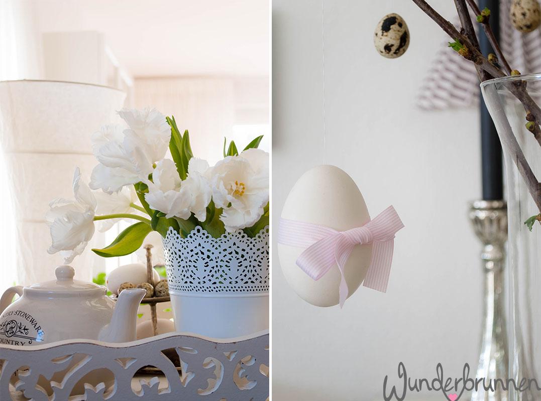 Tulpen und Schleifenei - Wunderbrunnen - Foodblog - Fotografie
