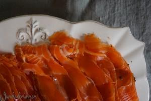 Gebeizter Lachs - Wunderbrunnen - Foodblog - Fotografie