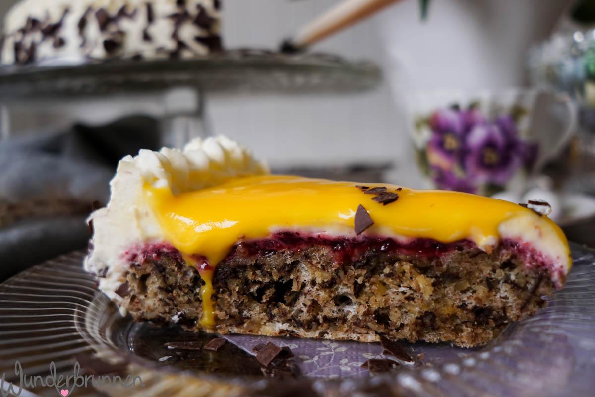 Eierlikoer-Torte - Wunderbrunnen - Foodblog - Fotografie