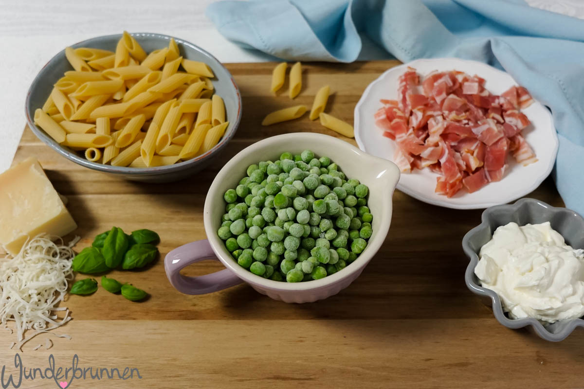 Bacon-Nudeln - Wunderbrunnen - Foodblog - Fotografie