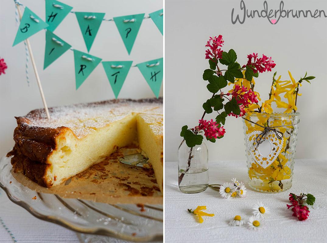 Käsekuchen Anschnitt - Wunderbrunnen - Foodblog - Fotografie