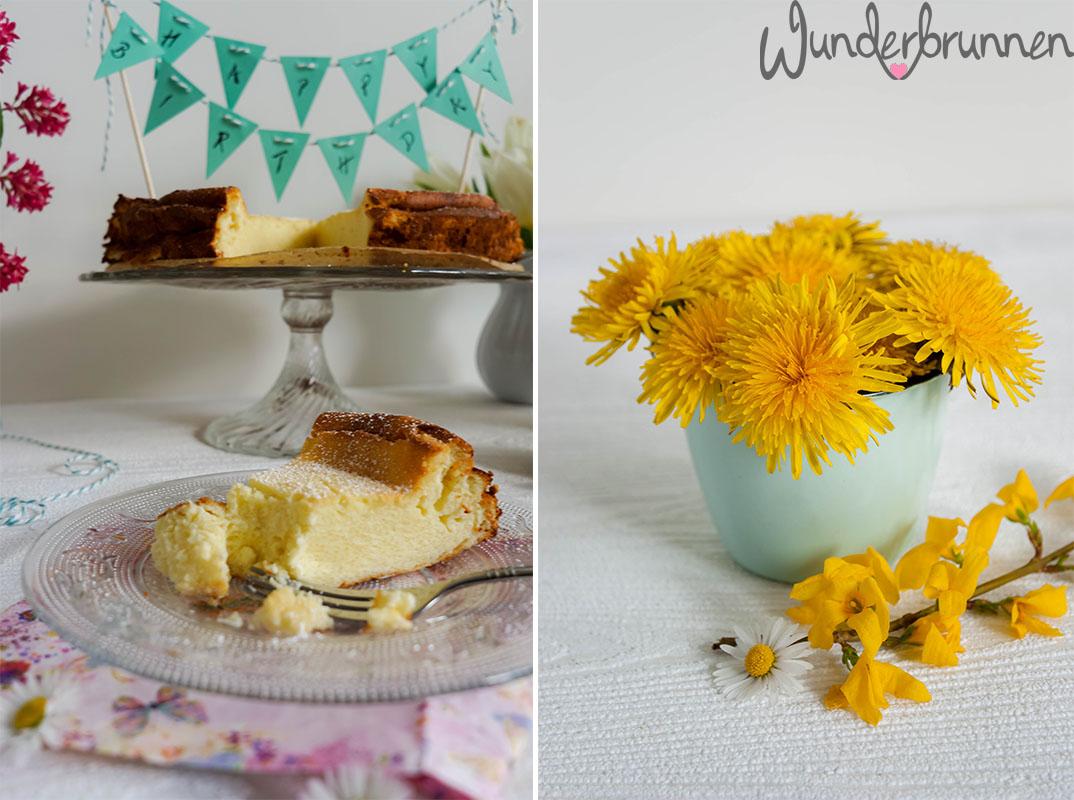 Stück Käsekuchen - Wunderbrunnen - Foodblog - Fotografie