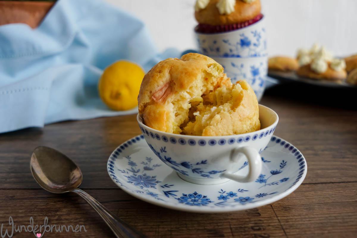 Rhabarber-Mascarpone-Muffins - Wunderbrunnen - Foodblog - Fotografie