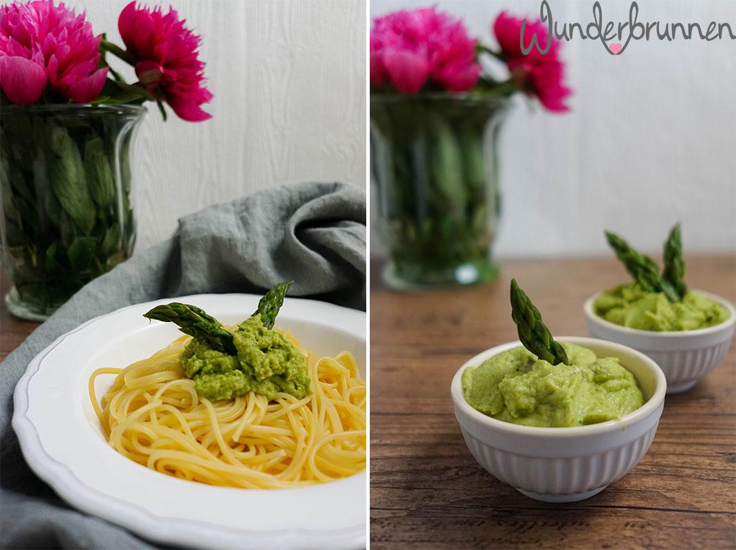 Collage mit Pestos - Wunderbrunnen - Foodblog - Fotografie
