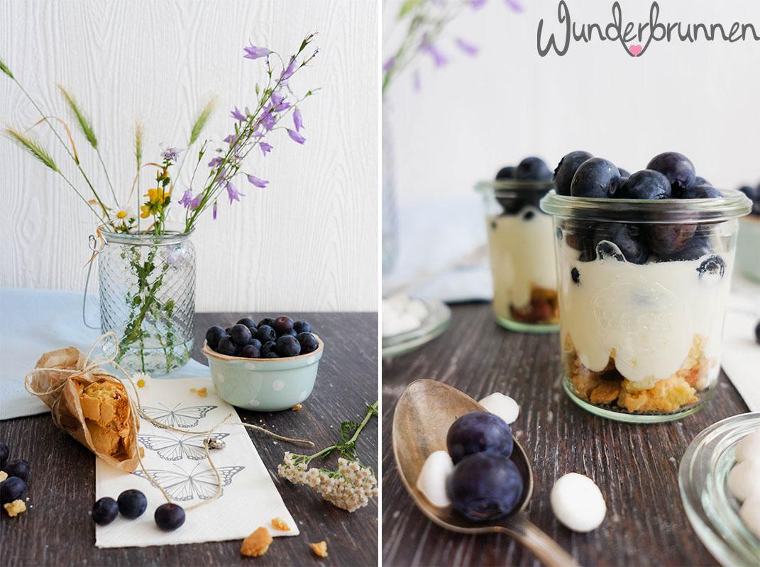 Blaubeer-Cantuccini-Dessert - Wunderbrunnen - Foodblog - Fotografie