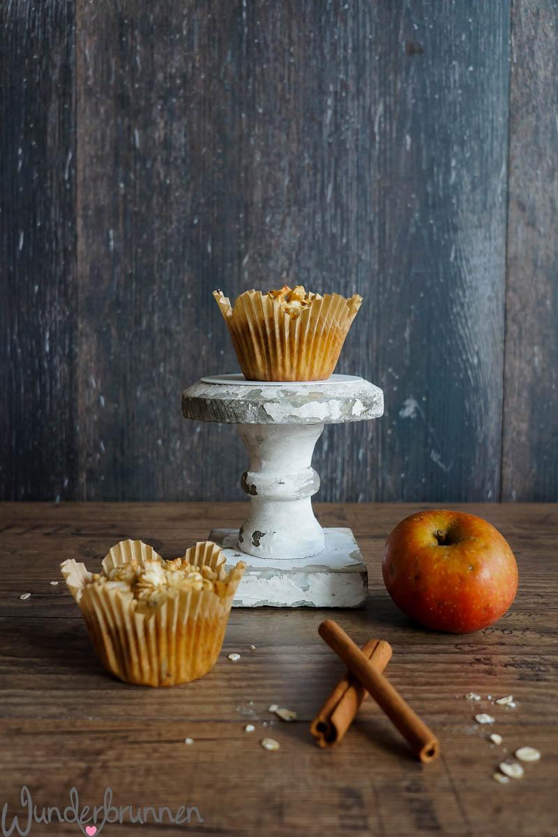 Apfel-Cranberry-Muffins - Wunderbrunnen - Foodblog - Fotografie