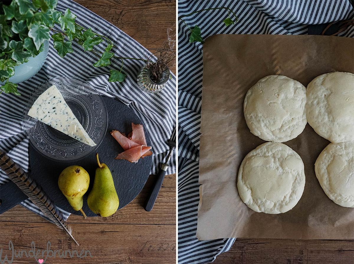 Birnen-Pizza Hefefladen - Wunderbrunnen - Foodblog - Fotografie
