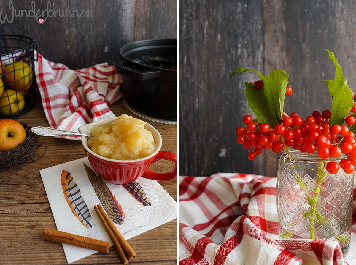 Apfelmus - Wunderbrunnen - Foodblog - Fotografie