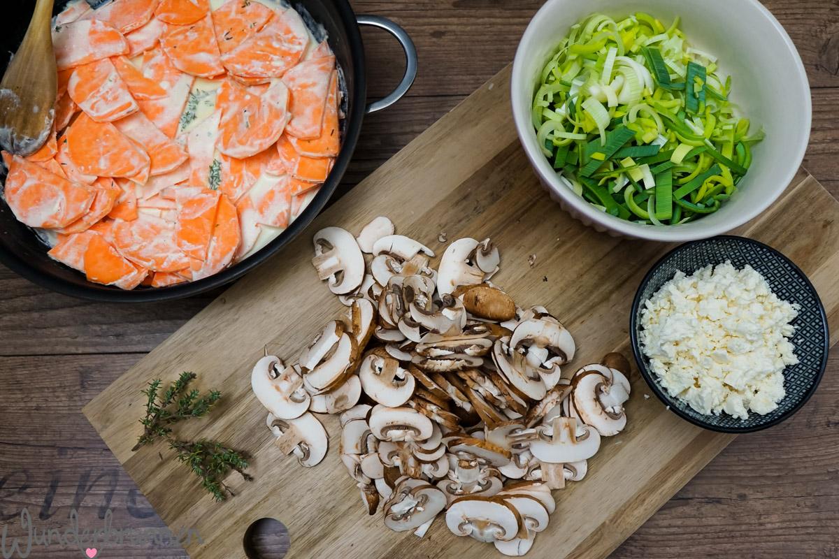 Buch-Tipp und Süßkartoffelauflauf - - Wunderbrunnen - Foodblog - Fotografie