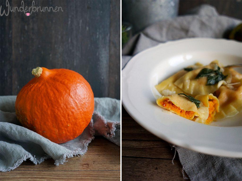 Kürbis-Ravioli - Wunderbrunnen - Foodblog - Fotografie