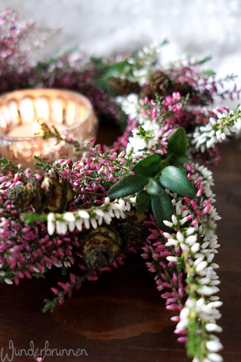 Kranz selber binden - Wunderbrunnen - Foodblog - Fotografie