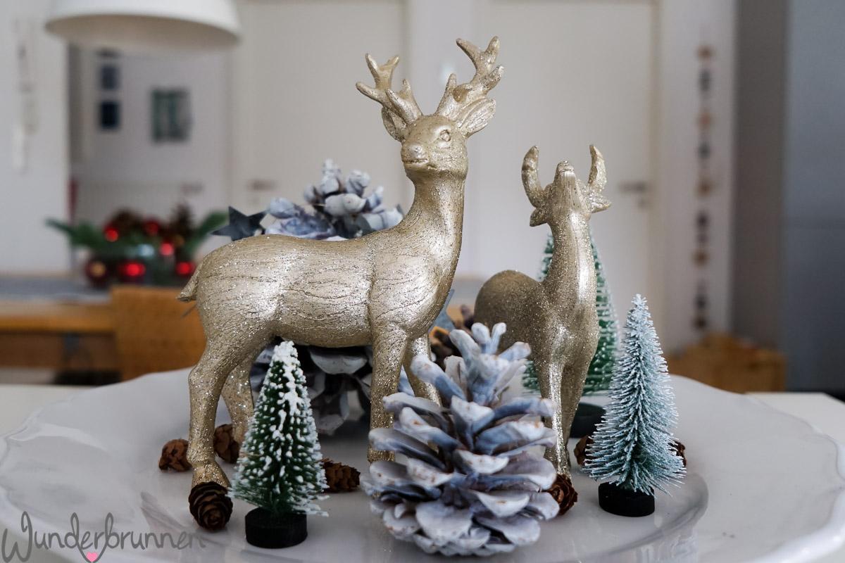 Hallo dezember und etwas weihnachtliche deko - Winterlandschaft deko ...