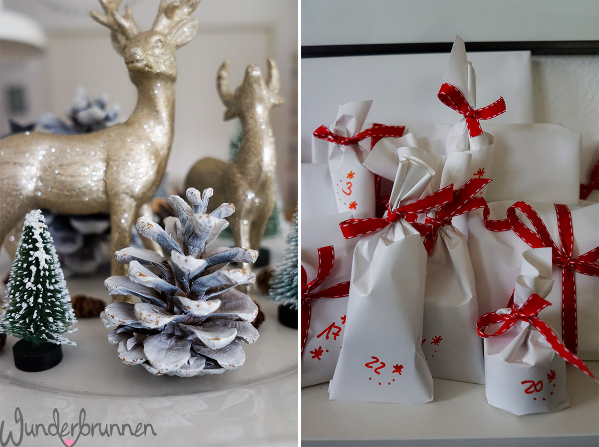 Hallo dezember und etwas weihnachtliche deko for Weihnachtliche dekoration