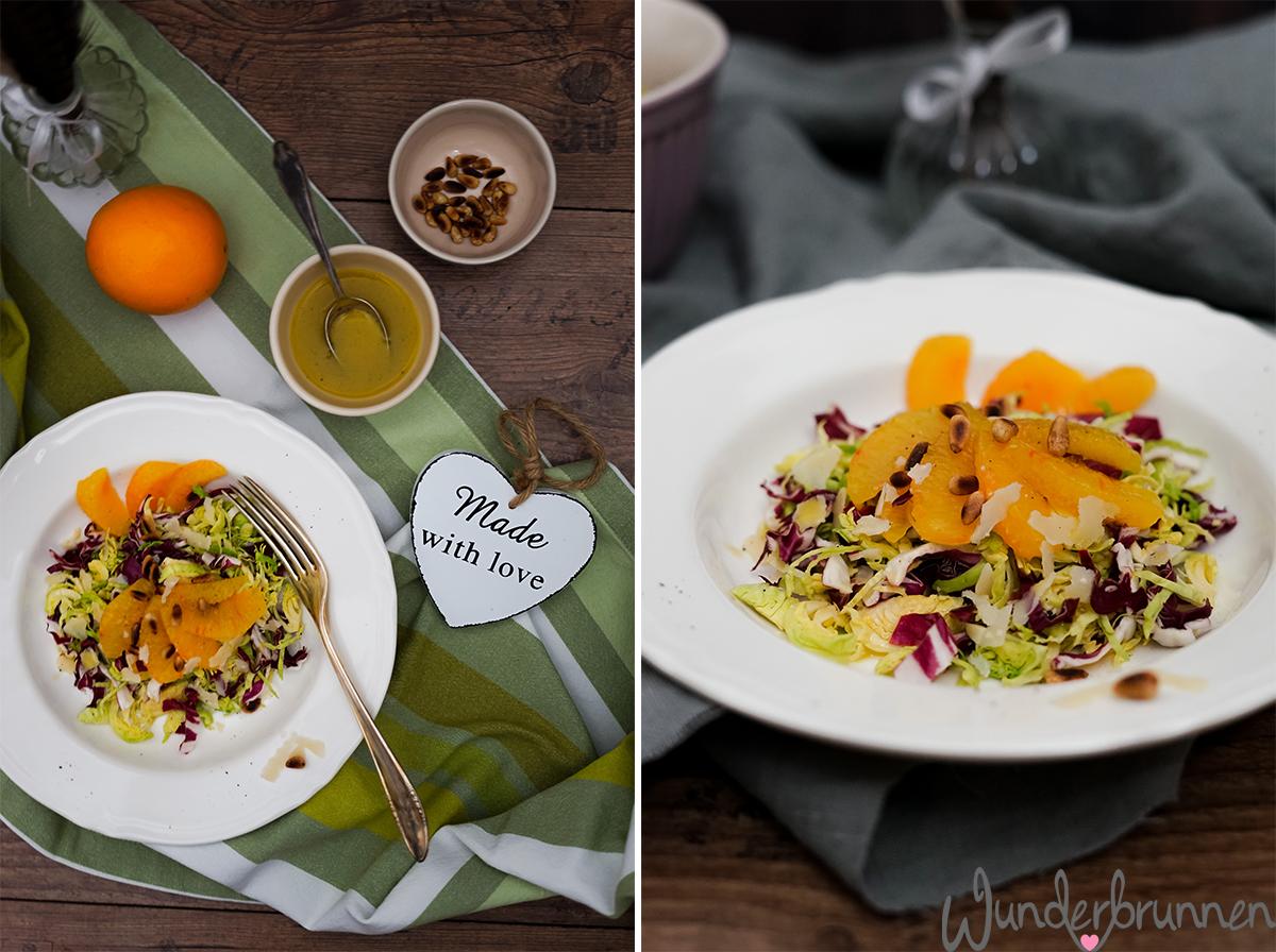 Wintersalat mit Radicchio - Wunderbrunnen - Foodblog - Fotografie