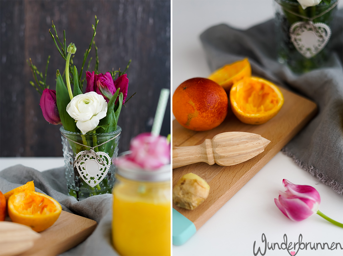 Mango-Smoothie - Wunderbrunnen - Foodblog - Fotografie