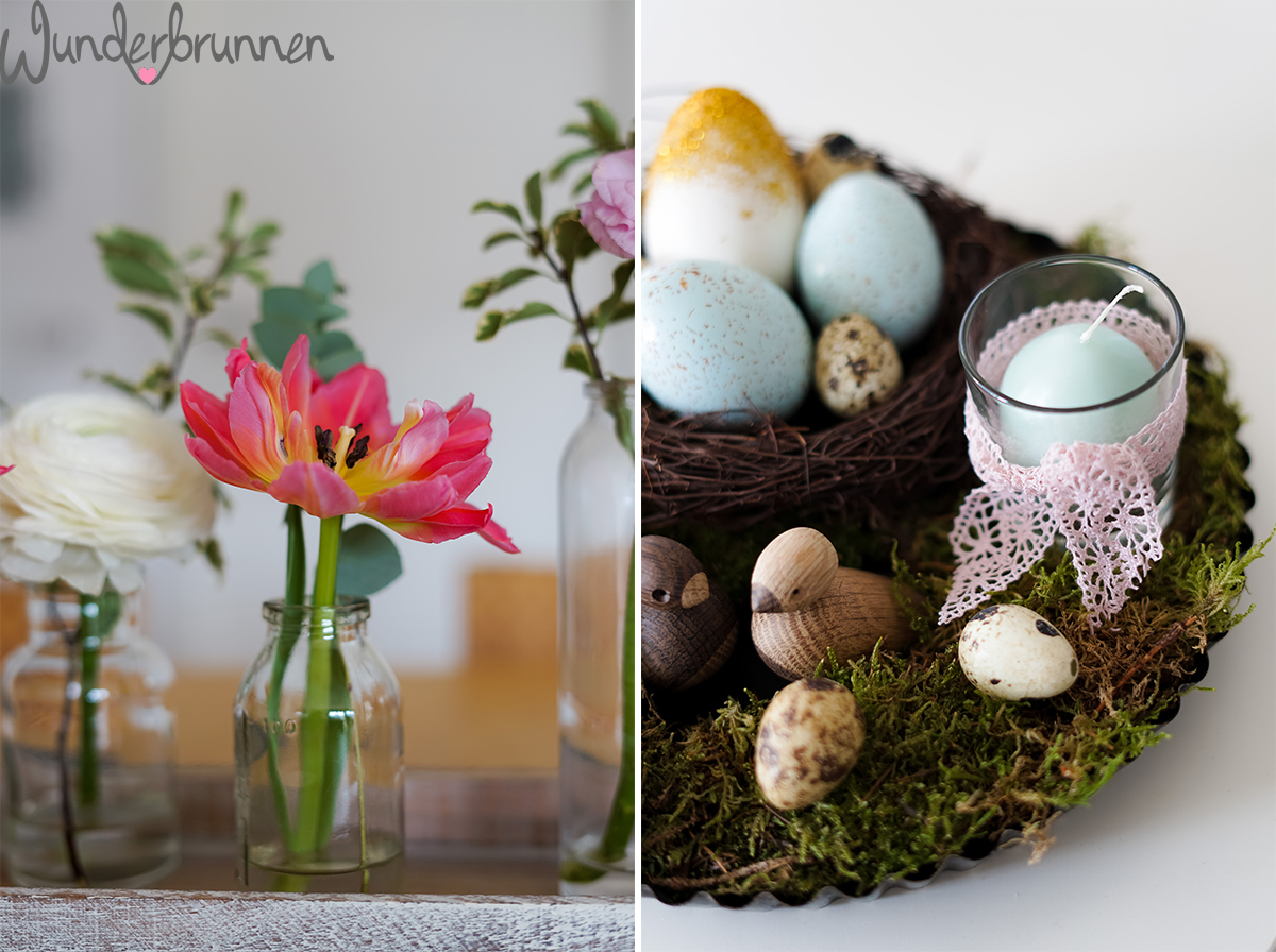 Inspiration für Ostern und Balkon - Wunderbrunnen - Foodblog - Fotografie