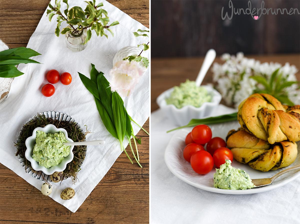 Bärlauch-Dip - Wunderbrunnen - Foodblog - Fotografie