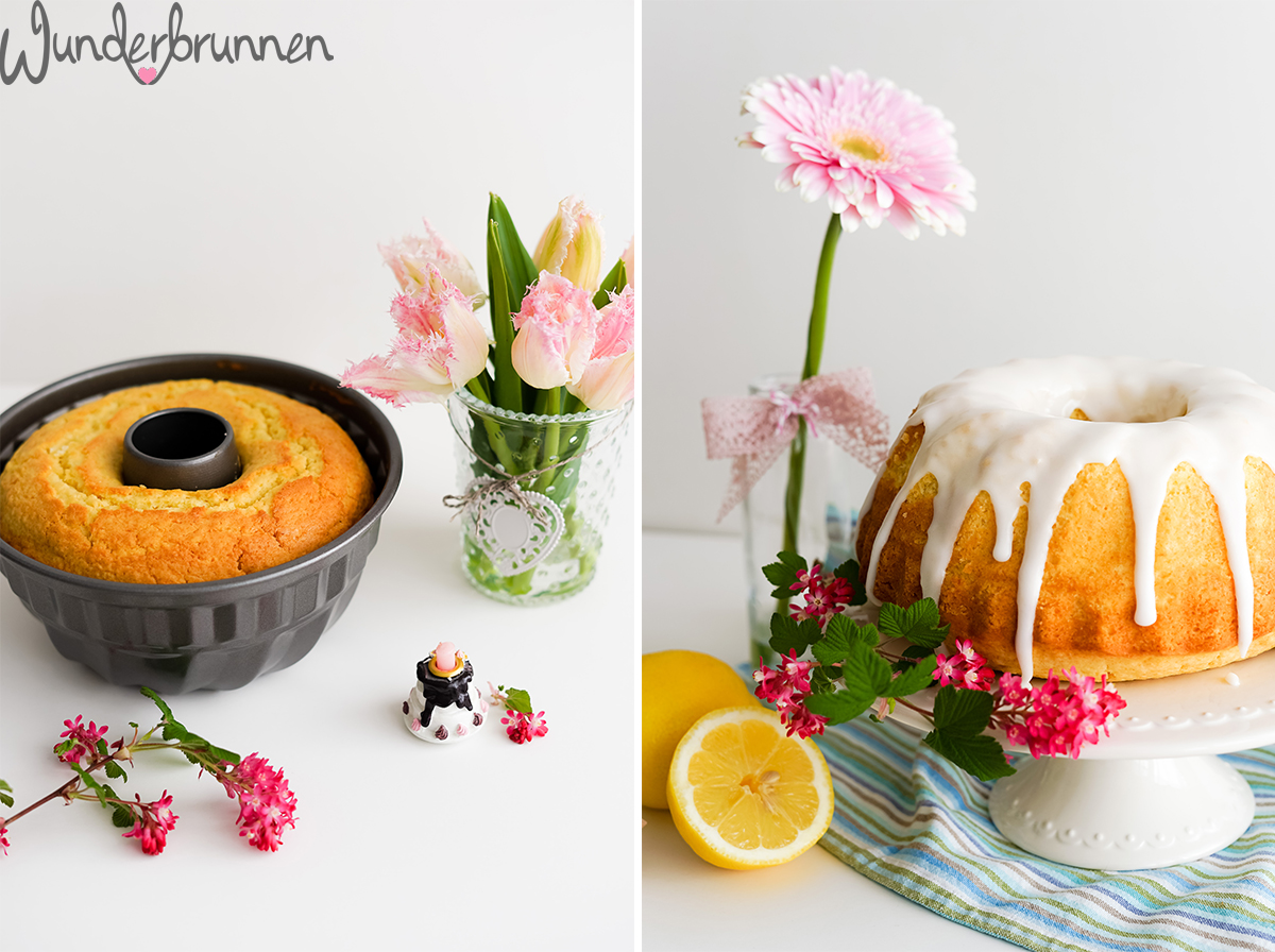 Zitronenkuchen zum Geburtstag - Wunderbrunnen - Foodblog - Fotografie