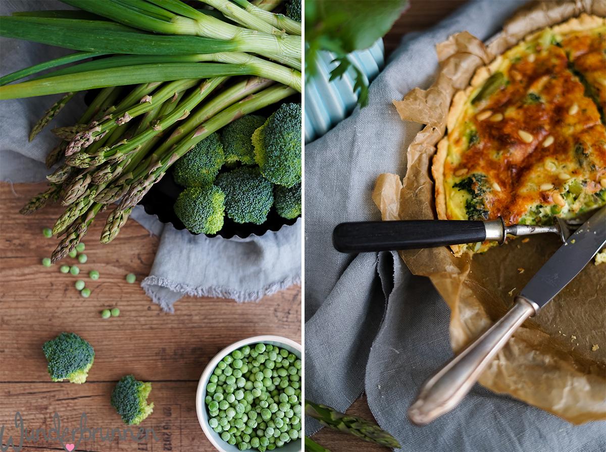 Gemüse-Quiche - Wunderbrunnen - Foodblog - Fotografie