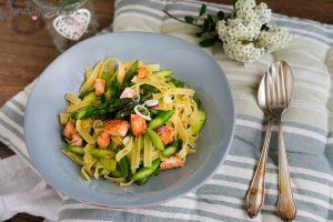 Lachs-Spargel-Pasta - Wunderbrunnen - Foodblog - Fotografie