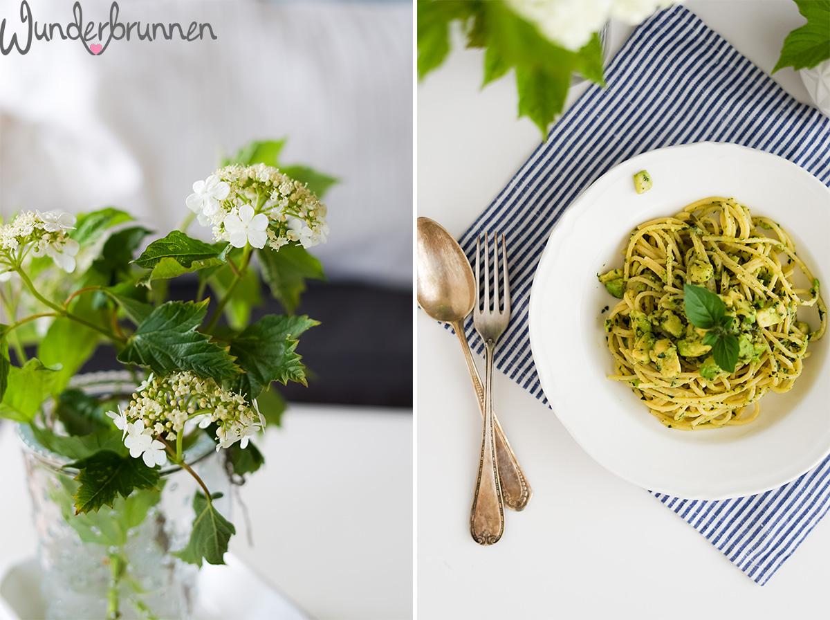 Avocado-Spaghetti (nach Anna Jones) - Wunderbrunnen - Foodblog - Fotografie