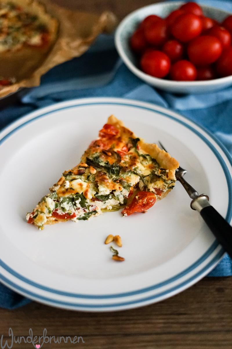 Tomatenquiche - Wunderbrunnen - Foodblog - Fotografie