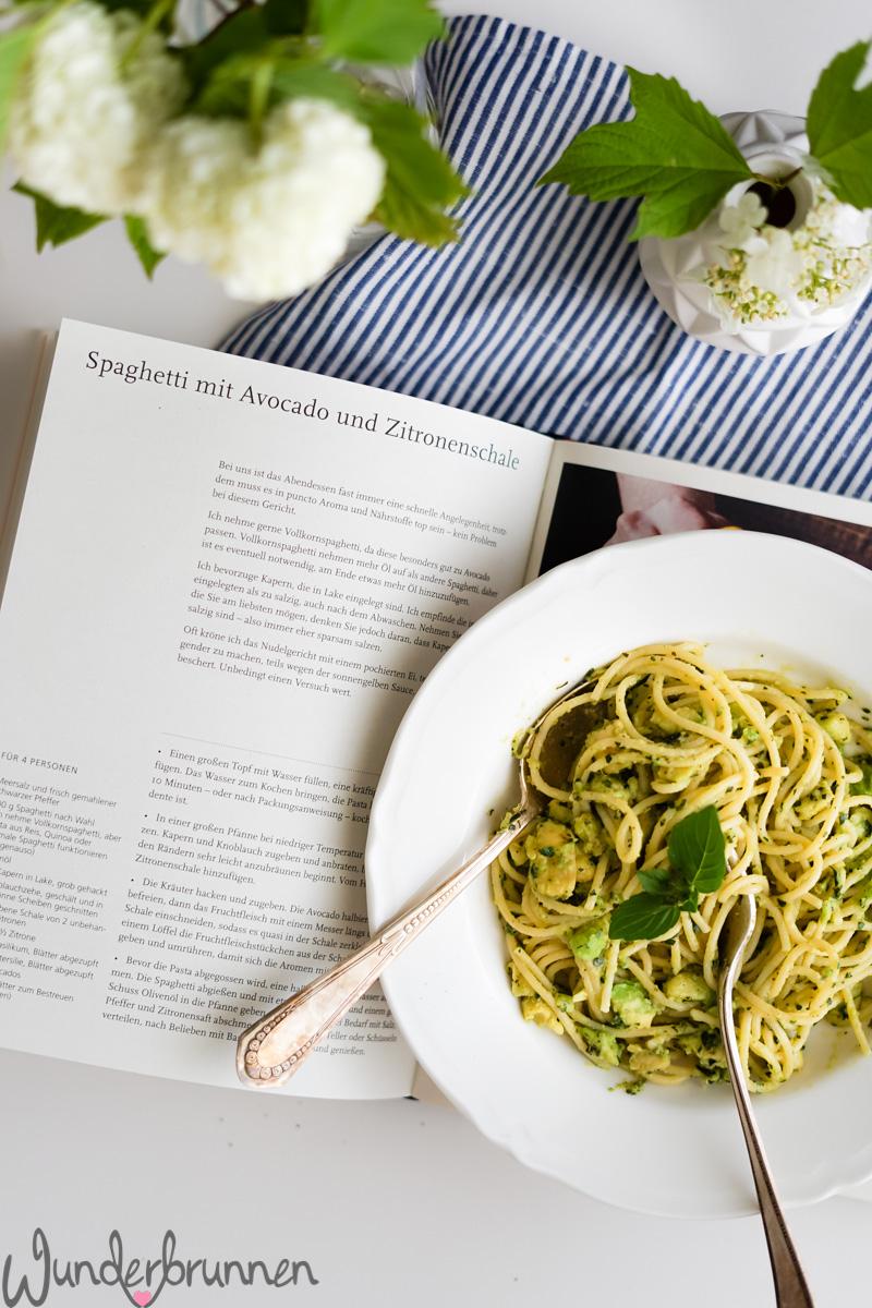 Avocado-Pasta - - Wunderbrunnen - Foodblog - Fotografie