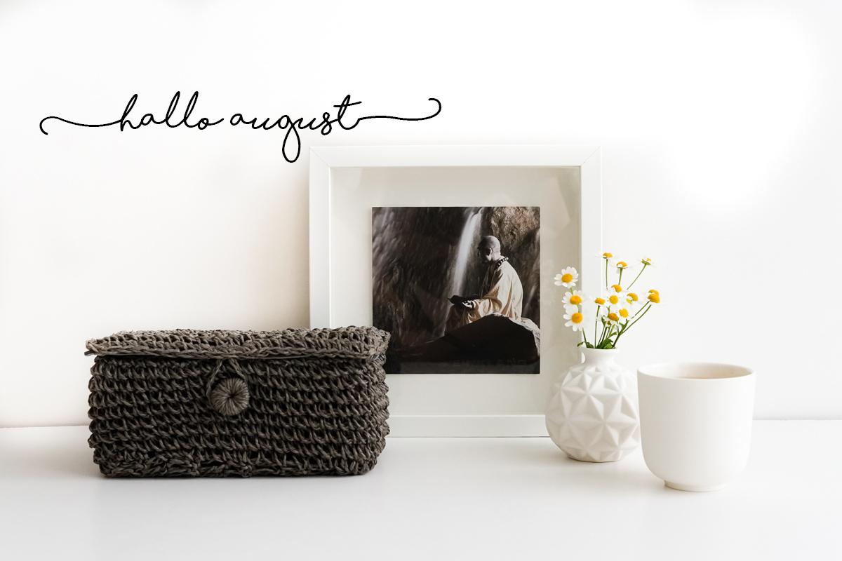 hallo august lieblinge f r den sommer wunderbrunnen. Black Bedroom Furniture Sets. Home Design Ideas