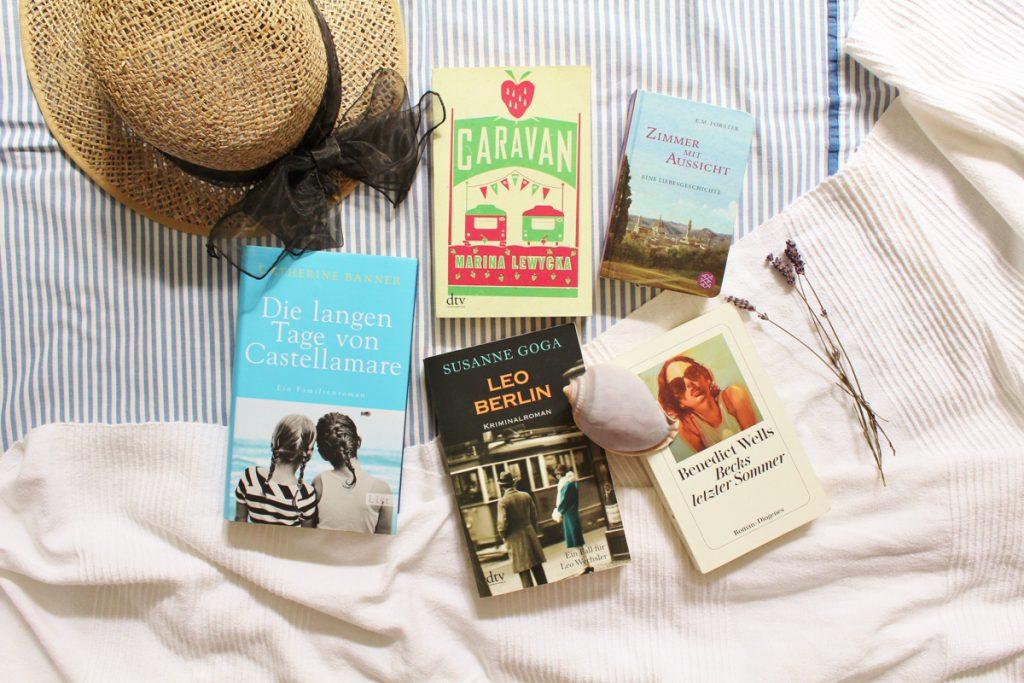 Bücher für den Sommerurlaub mit Kathalog - Wunderbrunnen - Foodblog - Fotografie
