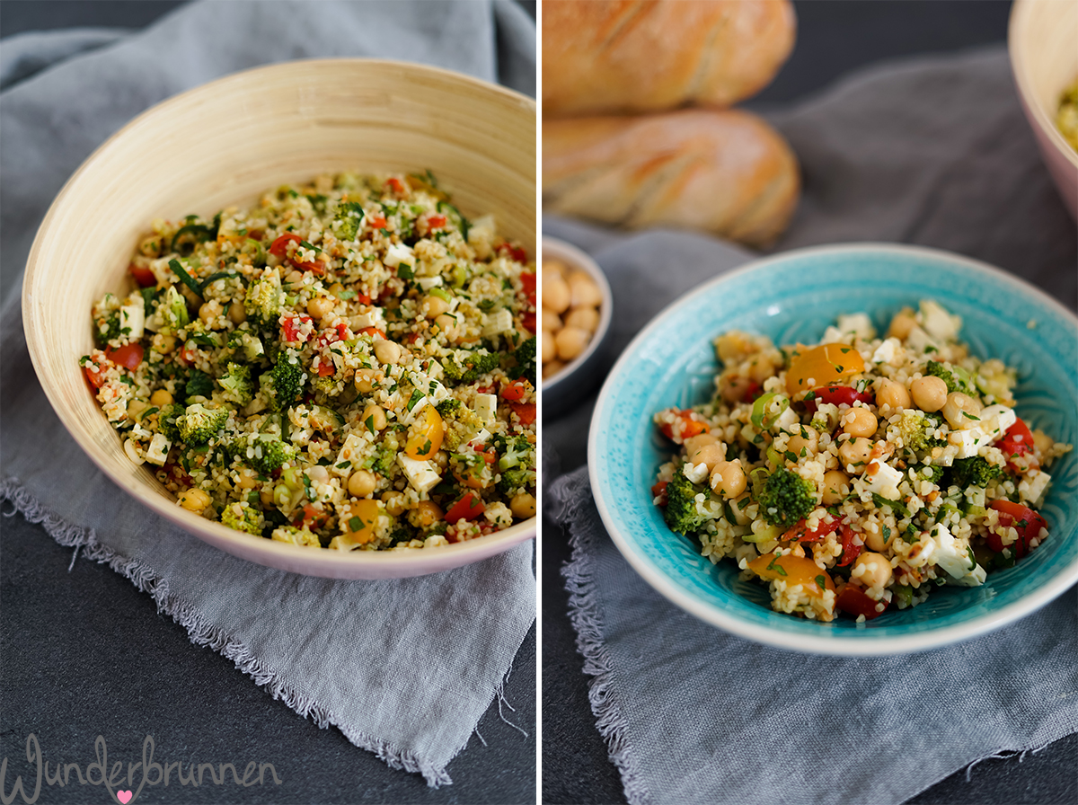 Bulgur-Salat - Wunderbrunnen - Foodblog - Fotografie