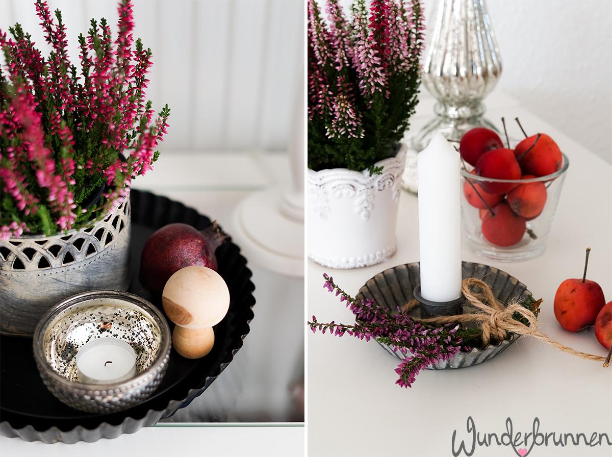 Herbst-Deko - Wunderbrunnen - Foodblog - Fotografie