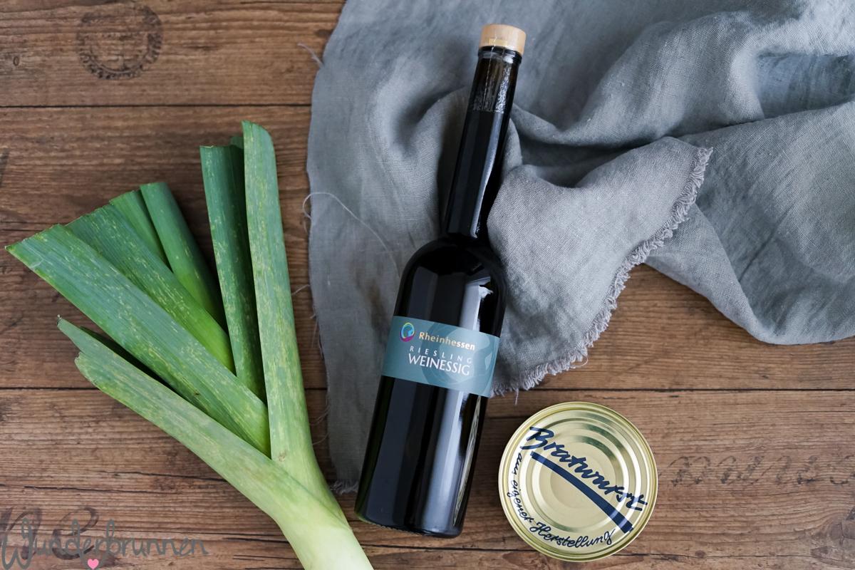 Wein, Lauch und Bratwurst - Blogger-Roulette - Wunderbrunnen - Foodblog - Fotografie
