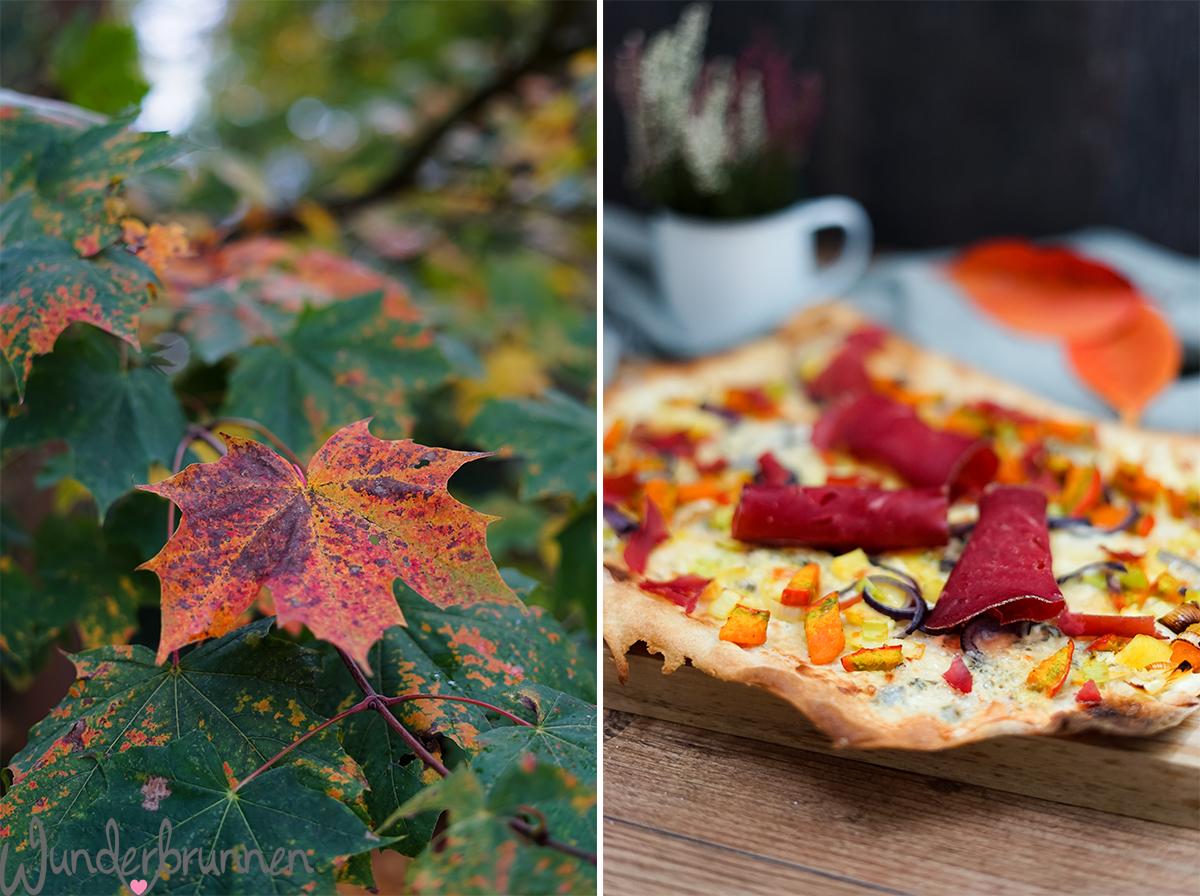 Kürbis-Flammkuchen - Wunderbrunnen - Foodblog - Fotografie
