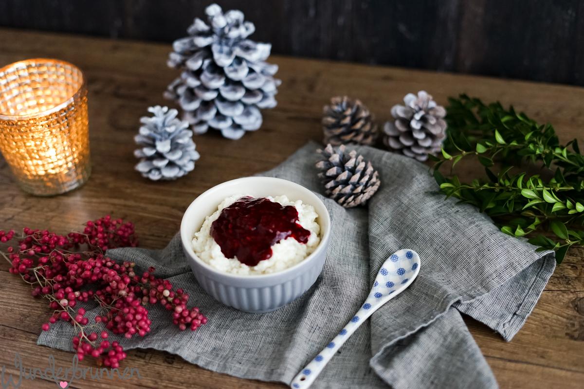 Milchreis mit Beerenkompott - Wunderbrunnen - Foodblog - Fotografie