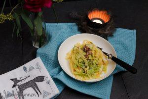 Wirsing-Pasta - Wunderbrunnen - Foodblog - Fotografie