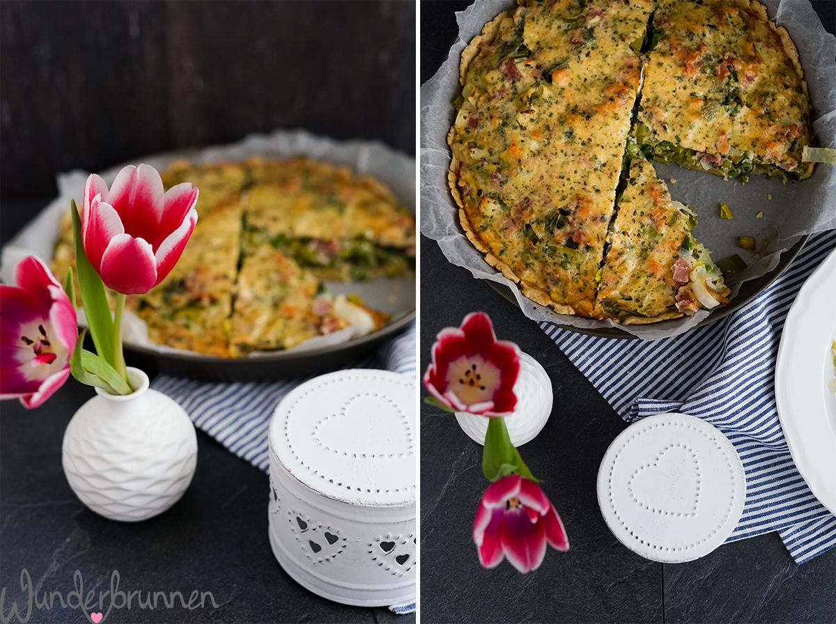 Lauch-Quiche - Wunderbrunnen - Foodblog - Fotografie