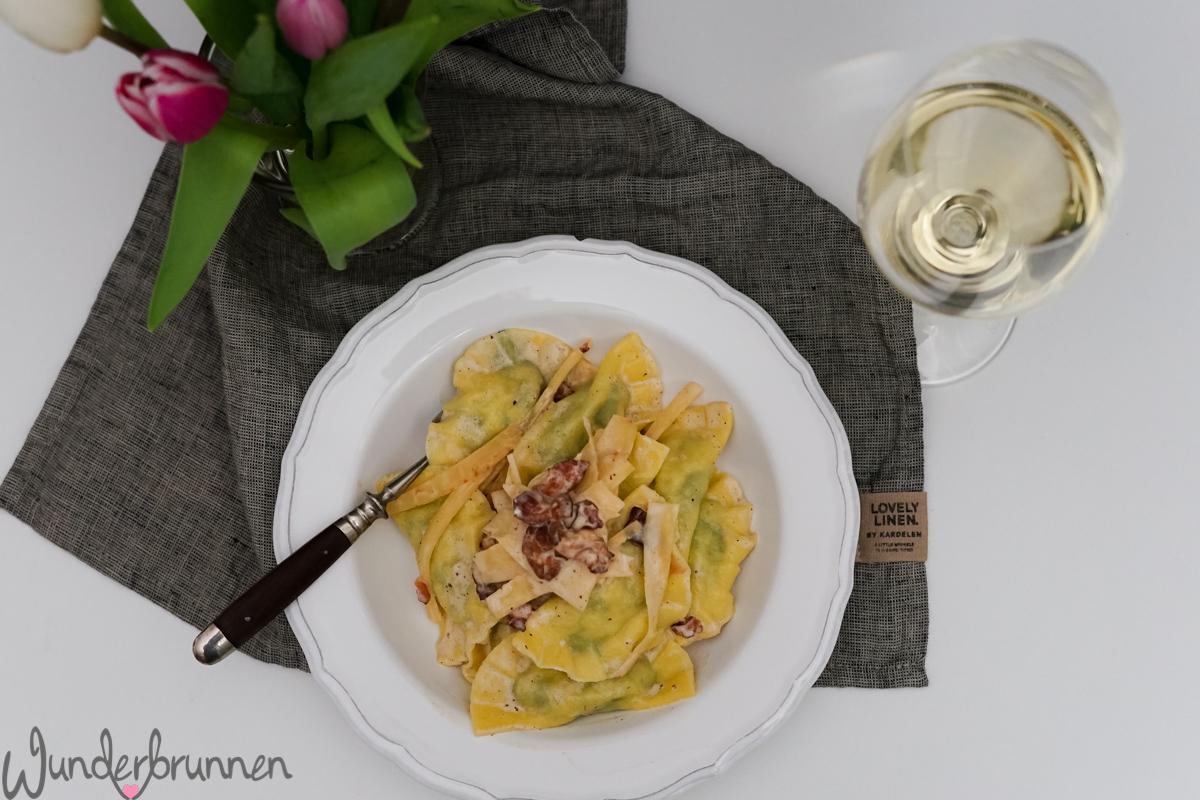 Pastinaken-Spinat-Ravioli - Wunderbrunnen - Foodblog - Fotografie