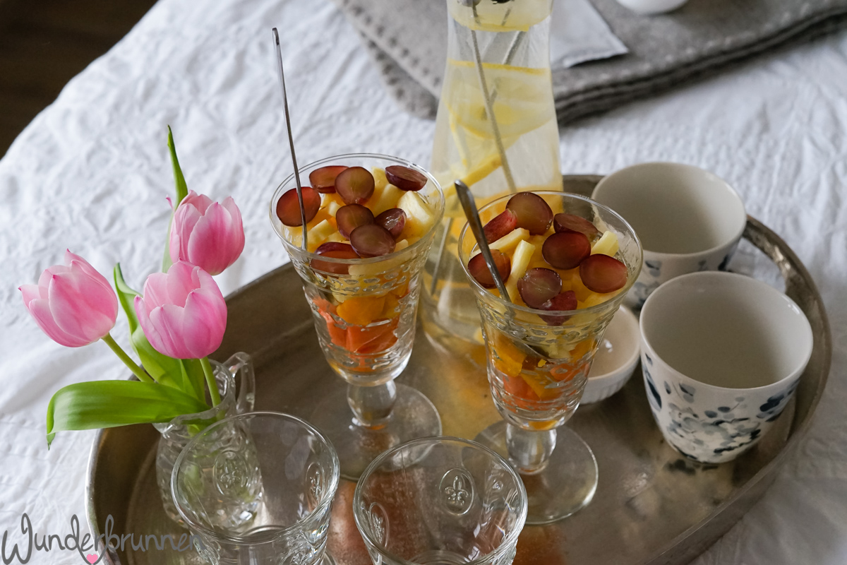Spa-Nachmittag zuhause - Wunderbrunnen - Foodblog - Fotografie