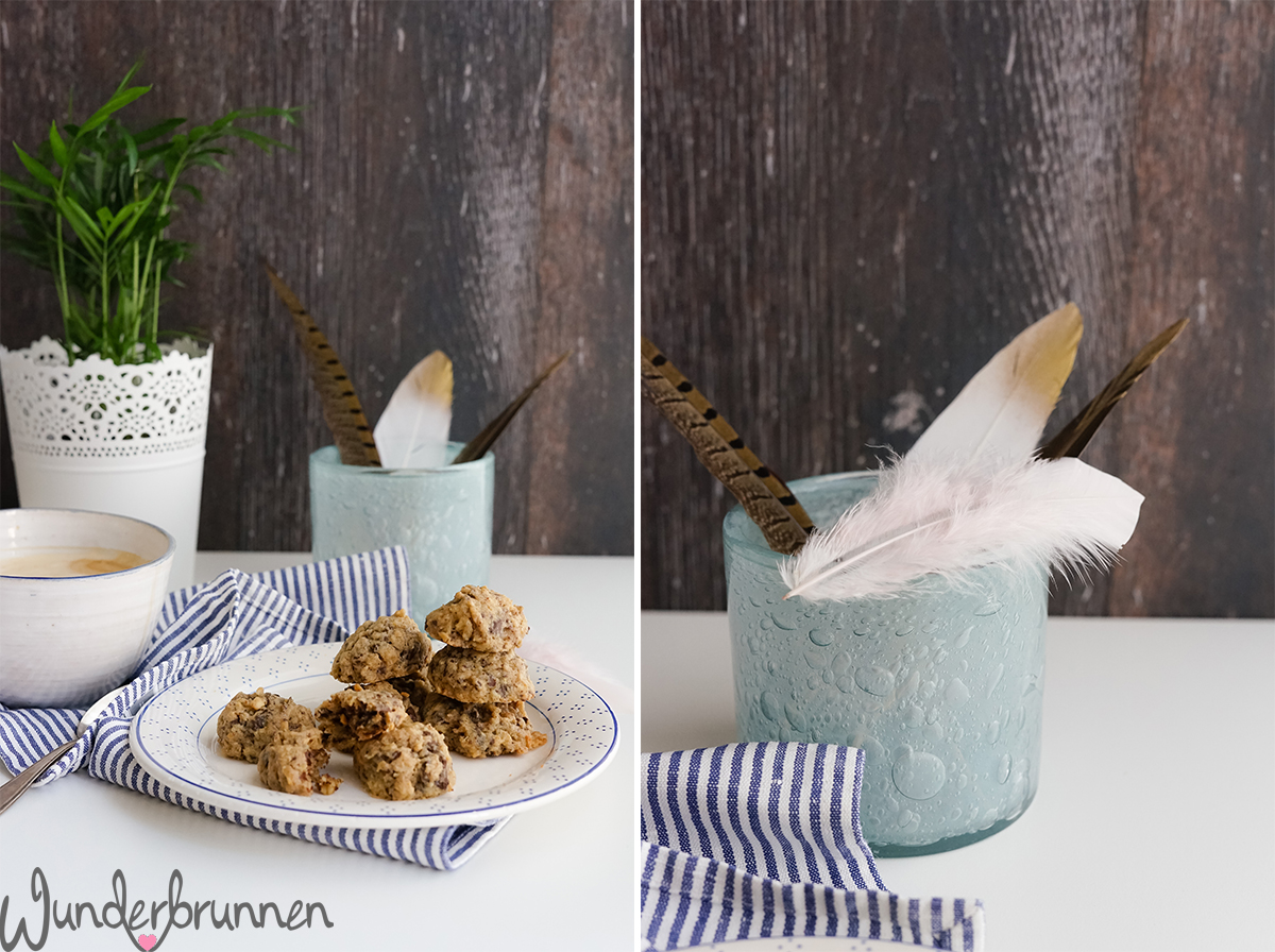 Peanut Butter Chocolate Chip Cookies - Wunderbrunnen - Foodblog - Fotografie