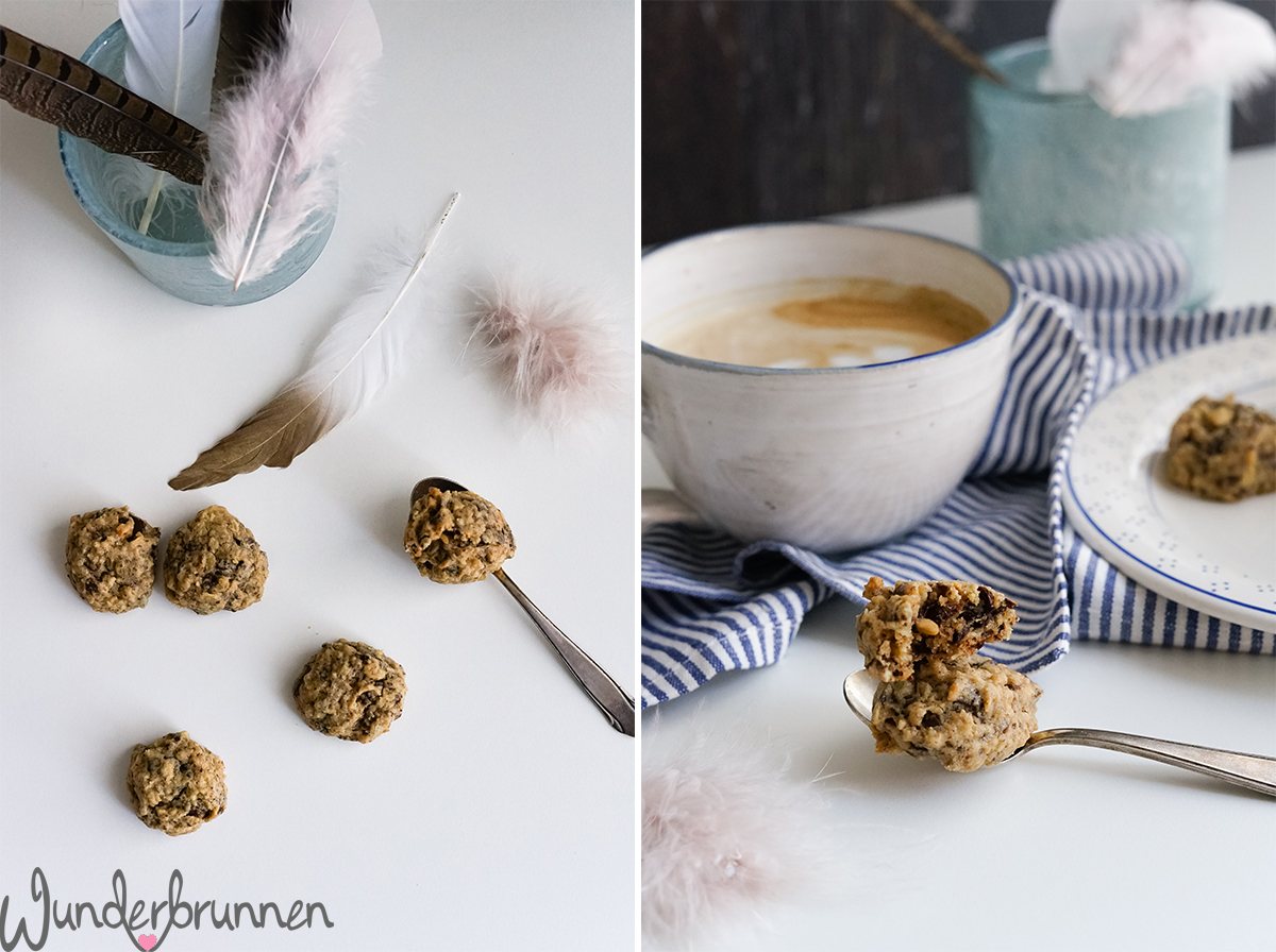 Peanut Butter Chocolate Chip Cookies - Wunderbrunnen - Foodblog - Fotografie