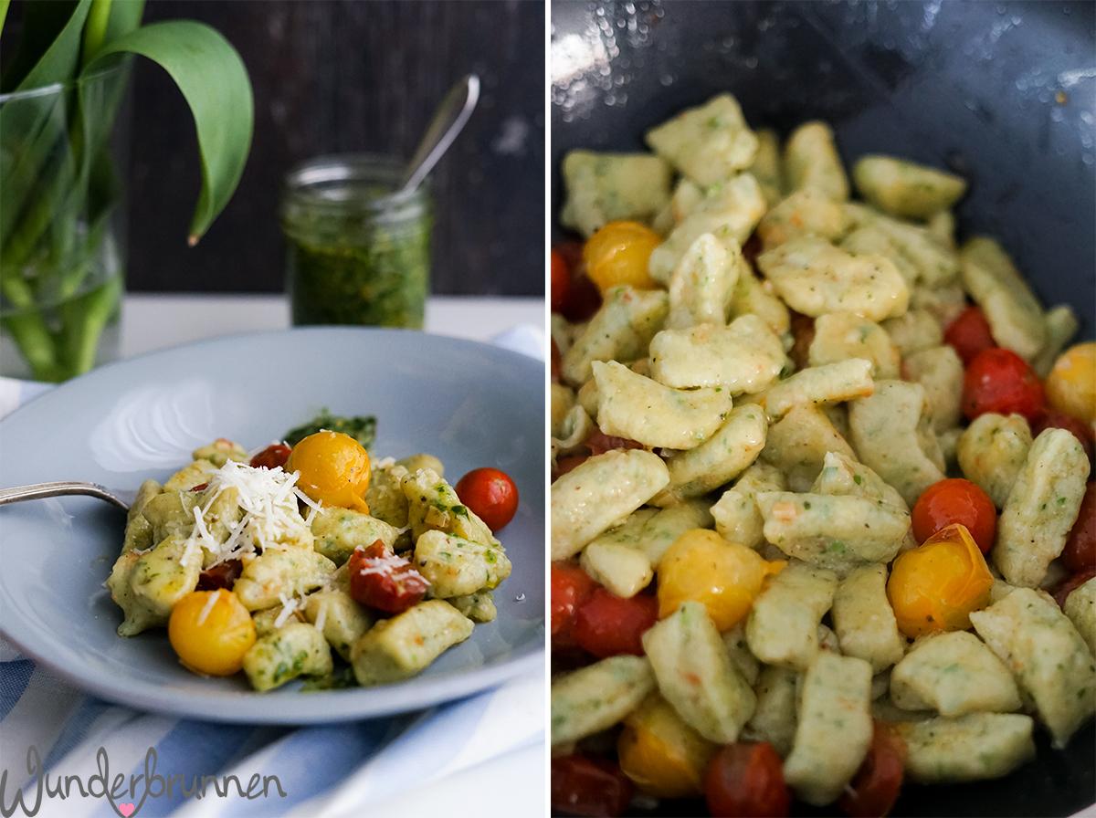 Bärlauch-Gnocchi - Wunderbrunnen - Foodblog - Fotografie