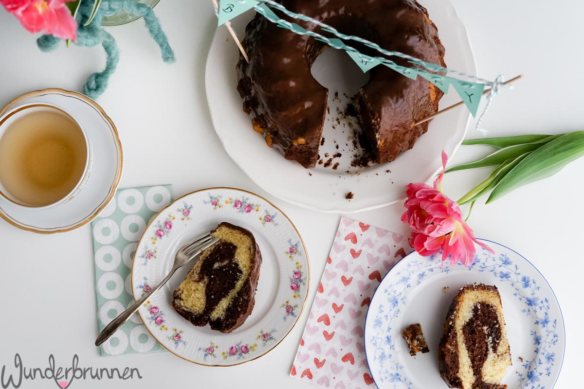 Marmorkuchen- Wunderbrunnen - Foodblog - Fotografie