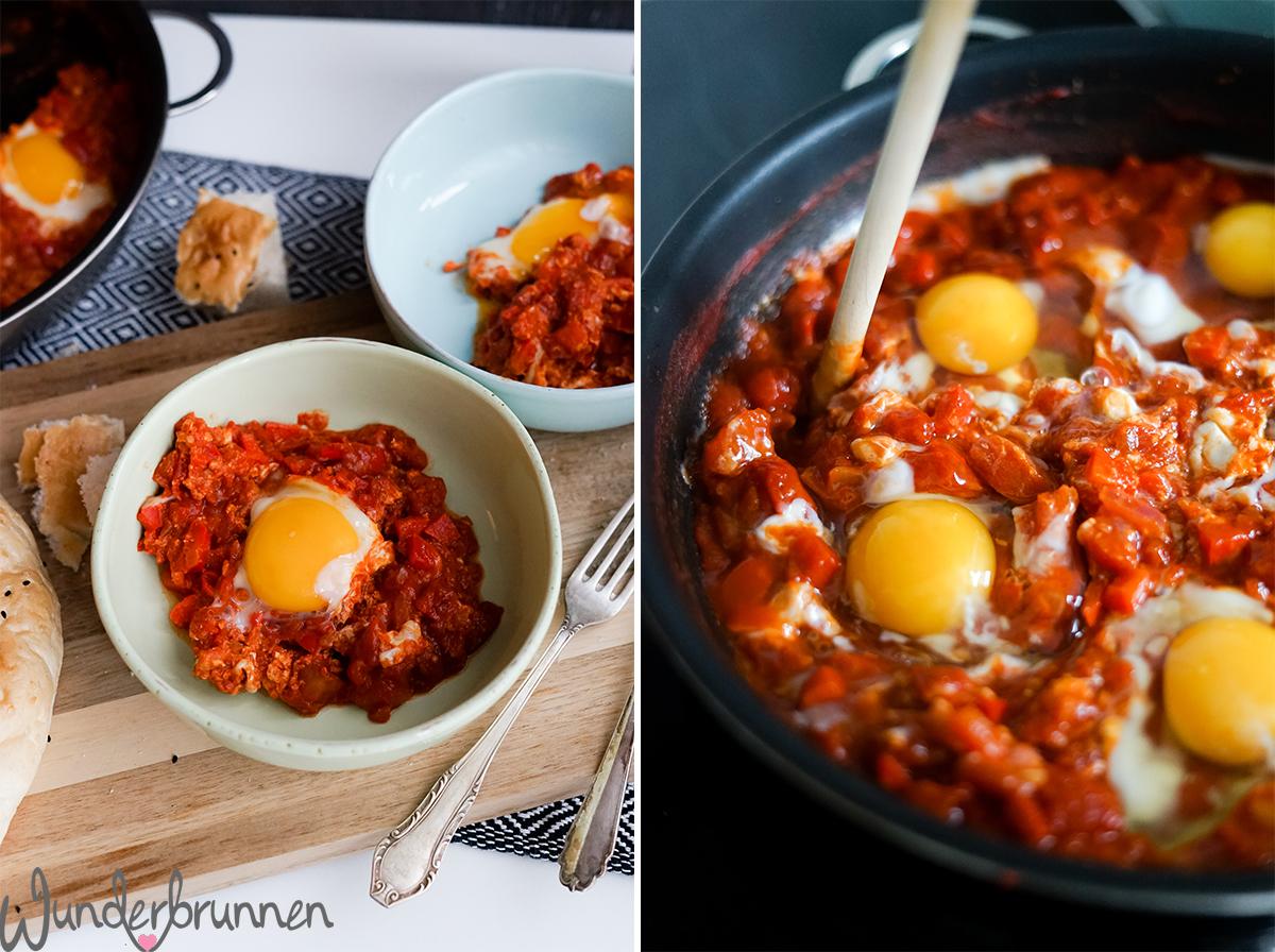 Shakshuka und Buchtipp - Wunderbrunnen - Foodblog - Fotografie