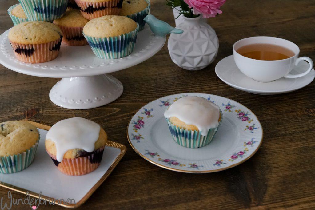 Blaubeer-Muffins - Wunderbrunnen - Foodblog - Fotografie