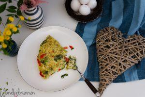 Brokkoli-Frittata - Wunderbrunnen - Foodblog - Fotografie