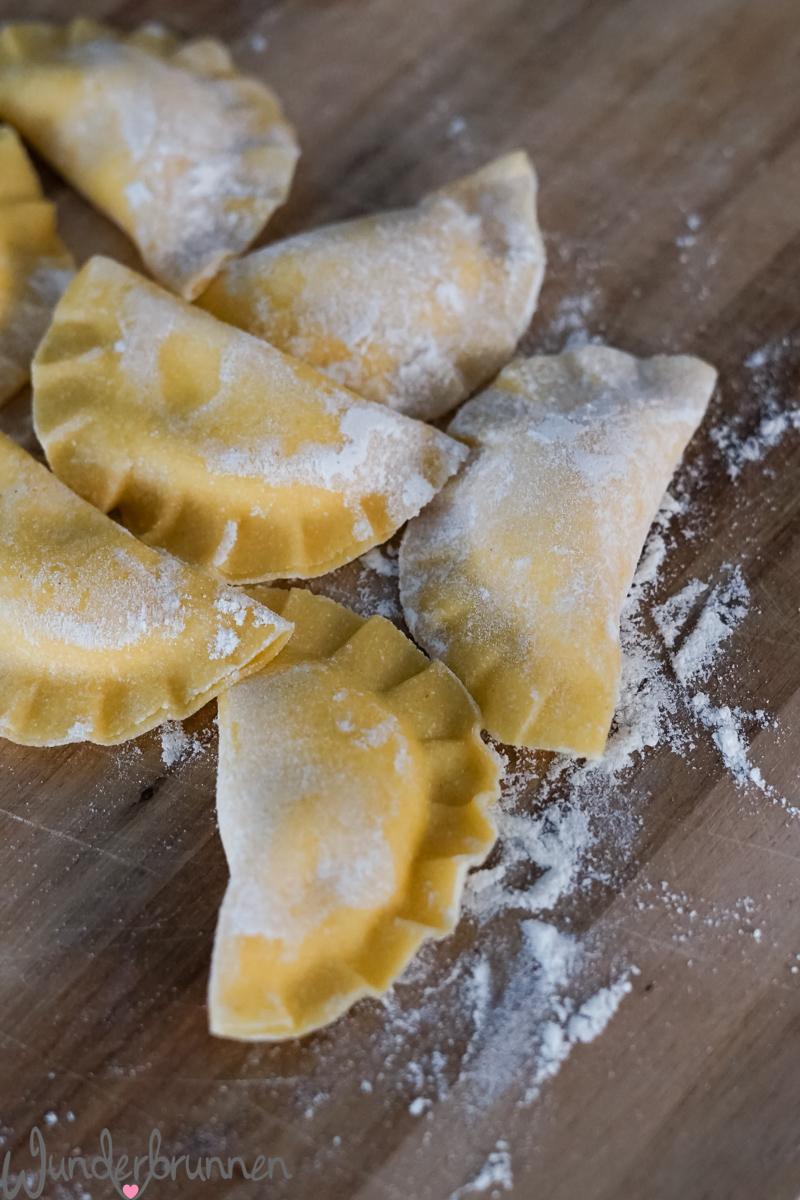 Zitronen-Ravioli - Wunderbrunnen - Foodblog - Fotografie