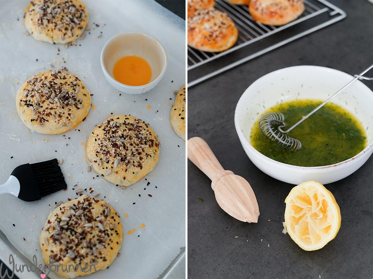 Sommerlicher Lachs-Burger - Wunderbrunnen - Foodblog - Fotografie